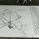Plan rzymskiego miasta Gorsium z I-IV wieku niedaleko Tác