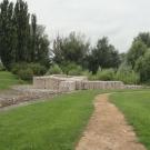 Ruiny rzymskiego miasta Gorsium z I-IV wieku niedaleko Tác
