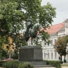 Székesfehérvár, Plac św. Stefana, pomnik św. Stefana